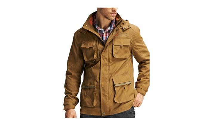 Men's Fashion Wind-and water- resistant winter Jacket Windbreaker