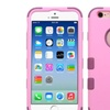 Insten Hybrid 3 Layer Hard Silicone Case for iPhone 6 6s Pink