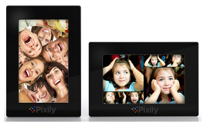 Digital Picture Frame Automatically Displays your Favorite Photos ...