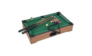 Mini table top pool table groupon for 12 in 1 game table groupon