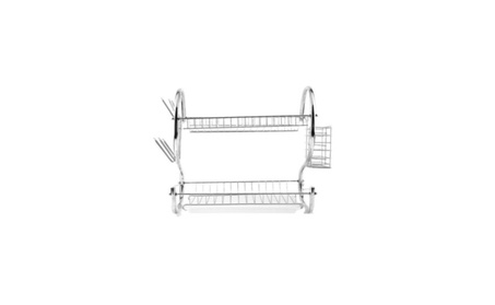 Tiers Kitchen Dish Cup Drying Rack Housewares Organizer Drainer Dryer 38e1895a-6eff-435e-a866-8e772d6e29b2