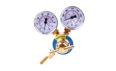 """2"""" Professional Oxygen Regulator Golden & White 6fac4d79-d900-4f5e-a71e-4c74a7d2e8de"""