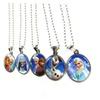 SALE 2x1 Stainless Steel Frozen Disney Pendant Necklaces