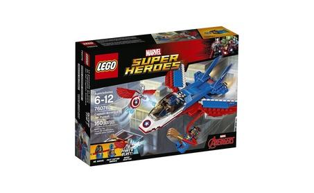 LEGO Super Heroes Captain America Jet Pursuit 76076 Building Kit 23b793e2-37c6-4103-8a5f-16588ca0ddc9