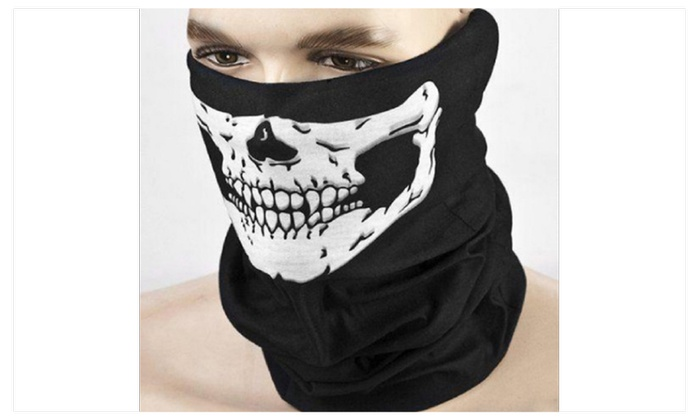 Scary Mask Festival Skull Masks Skeleton Outdoor Motorcycle Bicycle Mu