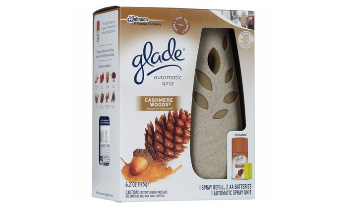 Glade air freshener starter kit coupon