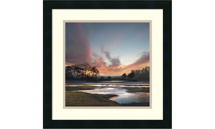 William Vanscoy Beyond The Sun Framed Art Print 18x18 In