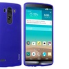 Insten Blue Gel TPU Silicone Back Shell Case Cover For LG G3 D855
