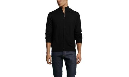 BLAKE  WOODS Merino Full Zip Sweater