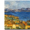 Cezanne:Marseilles,1886-90 by Paul Cezanne