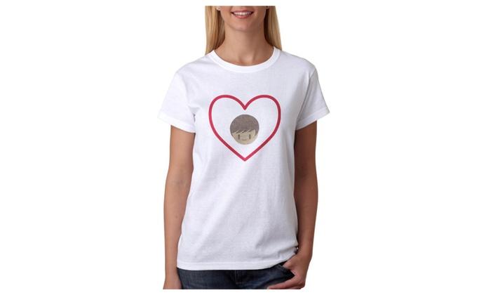 Hers Women's White T-shirt NEW Sizes S-2XL