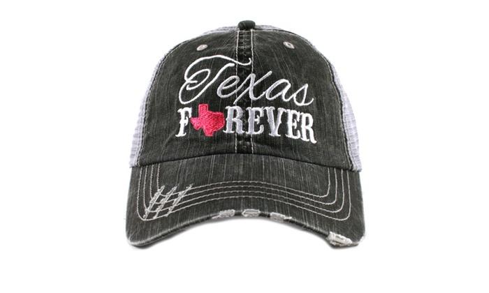 Texas Forever Women's Trucker Hat