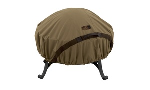 Hickory Heavy-duty Fire Pit Cover, Fits Small 44 inch Diameter, Tan