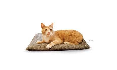"K Pet Products Amazin' Thermo-Kitty Pad Gray 15"" x 20"" x 2"" e17925fb-15ac-4667-8cf1-b2e8ac98ef5d"