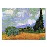 Vincent van Gogh Wheatfield with Cypresses Canvas Print