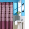 Lavish Home Orleans Pintuck Shower Curtain