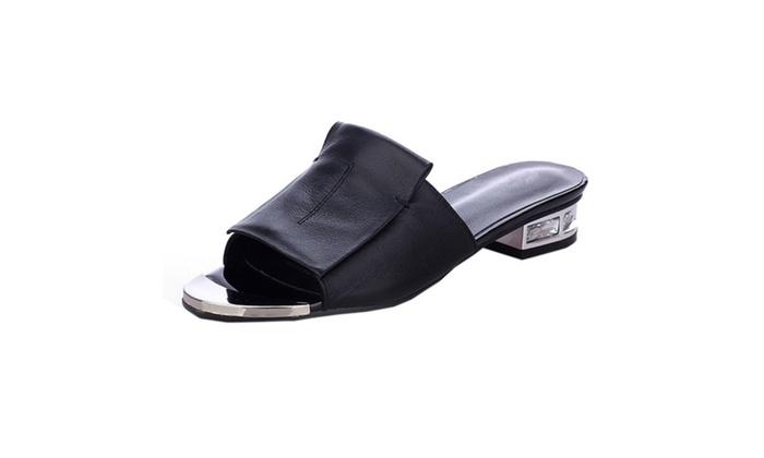 DPN Women's Leather Sandals Shoes