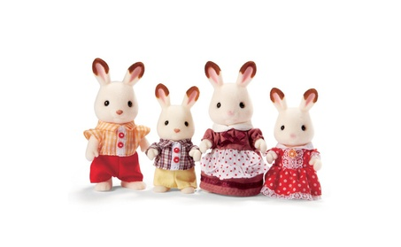 Calico Critters Hopscotch Rabbit Family b76fc499-32d9-4bfd-bd46-093bb757869d