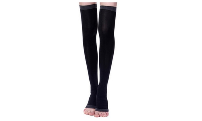 1 Pair of Overnight Slimming Therapy Stockings