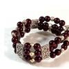 Silver-Tone 3-Strand Stretch Bracelet