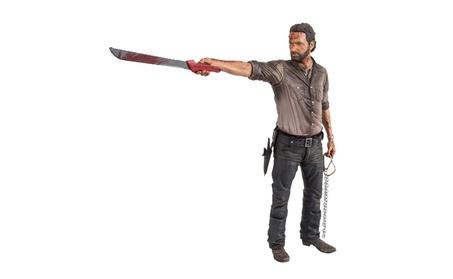 McFarlane Toys Walking Dead Deluxe Figure, Rick Grimes b3229db3-ff73-4b14-8cf3-6b50d5753e13