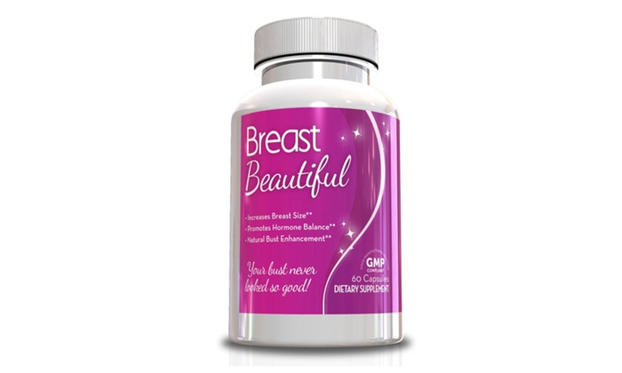 Buy It Now : Breast Beautiful Supplement, 30-Day Supply Per Bottle