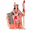 "Cherish Crafts 24"" Porcelain Native American Doll 'Desert Wind'"