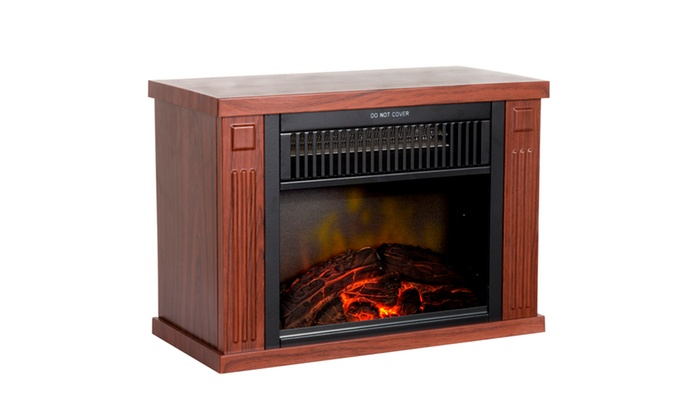 northwest 13 quot portable mini electric fireplace heater