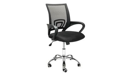 Adjustable Office Computer Desk Executive Chair Task Swivel Mesh Chair Ergonomic