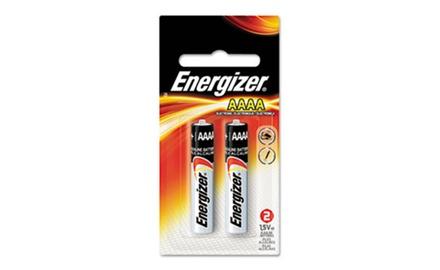 Energizer MAX Alkaline Batteries, AAAA, 2 Batteries