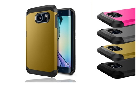 Premium Durable Shell Hybrid Case Cover For Samsung Galaxy S6 EDGE 1a1ba6dc-95ad-465c-8add-fc9f6423bcab