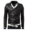 Men's Long Sleeve Zip Closure Simple Slim Fit Cargo Jackets