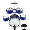 Supreme Rhythm Jazz Big Size Kid's Musical Instrument Toy Drum (Blue)