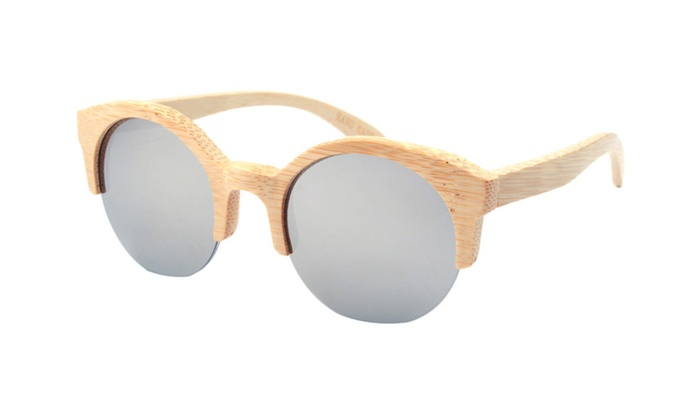Women's Wood Wayfarer Polarized Sunglasses