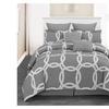 Ruthy's Textile 8-Piece Ultra soft Comforter Set