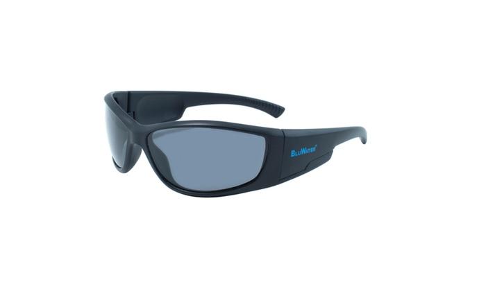 BlueWater Springboard GR Black Frame Polarized Grey Lens