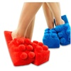 Brick Building Block Plush Slippers