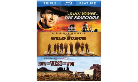 SEARCHERS, THE / WILD BUNCH, THE / HOW THE WEST WAS WON 2e29d413-2800-423d-ab2b-1d5ef26cc173