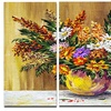 Wild Flowers in a Pot - Floral Metal Wall Art