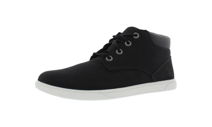 37c5c18a2e3 Timberland Groveton Chukka Boots Boy s Gradeschool Shoes Size 7 7 Black