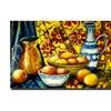 Michelle Calkins; Still Life with Oranges Canvas Print