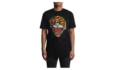 Ed Hardy Tiger Wrinkle Black