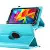 Insten 360 Degree Swivel PU Leather Case For Galaxy Tab Baby Blue