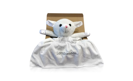Boutique Lamb Lovie Security Blanket in Gift Box