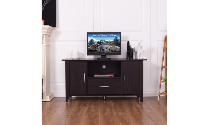 Modern TV Cabinet Media Unit Storage Shelf TV Stand Media Console Furniture  Home