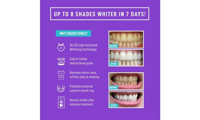 Up To 50 Off On Ismile Teeth Whitening Kit Groupon Goods