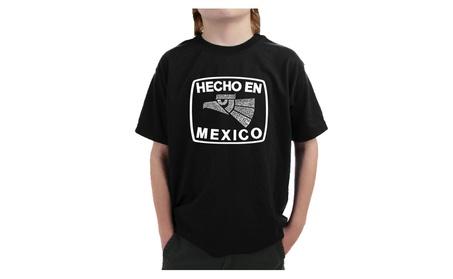 Boy's T-shirt - HECHO EN MEXICO ba73d6fd-81ca-4105-9759-1ba56c3be9e8