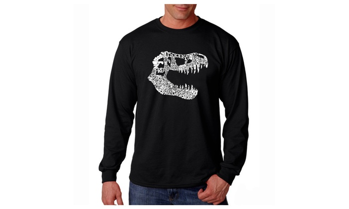 Men's Long Sleeve T-shirt - TREX