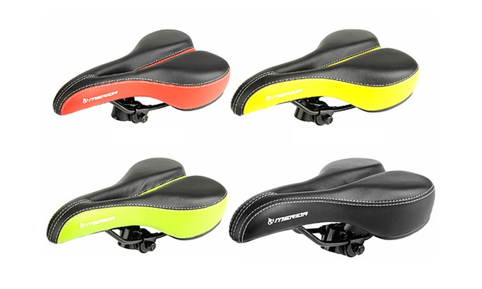 Bicycle Saddle Cycling Seat Soft Steel Hollow Bicycle   Seats Saddles