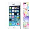 Insten Clear Rainbow Bigger Bubbles Clear Soft Case iPhone 5 5S 5th